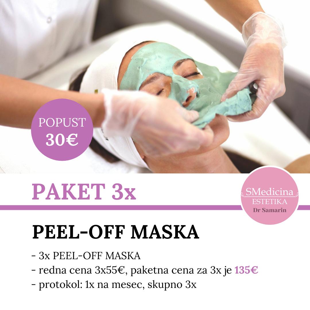 Peel-Off Maska